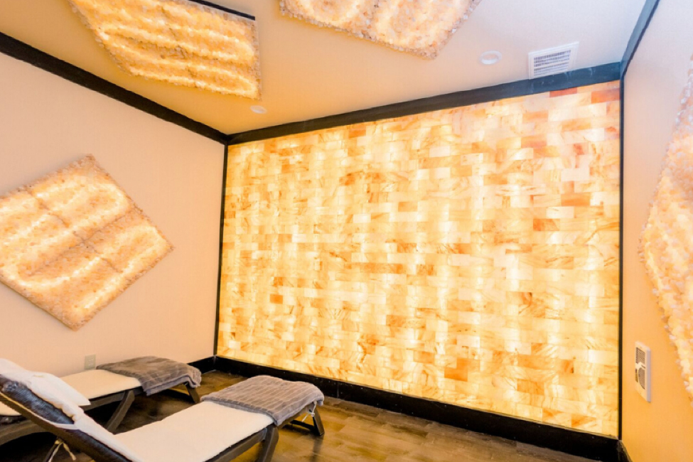 A Himalayan Salt Halotherapy Room in Myrtle Beach
